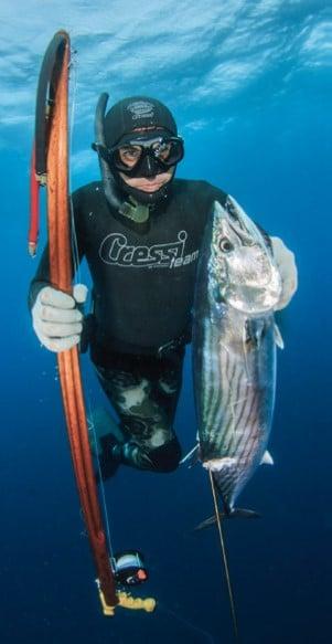 Pesca submarina bonito